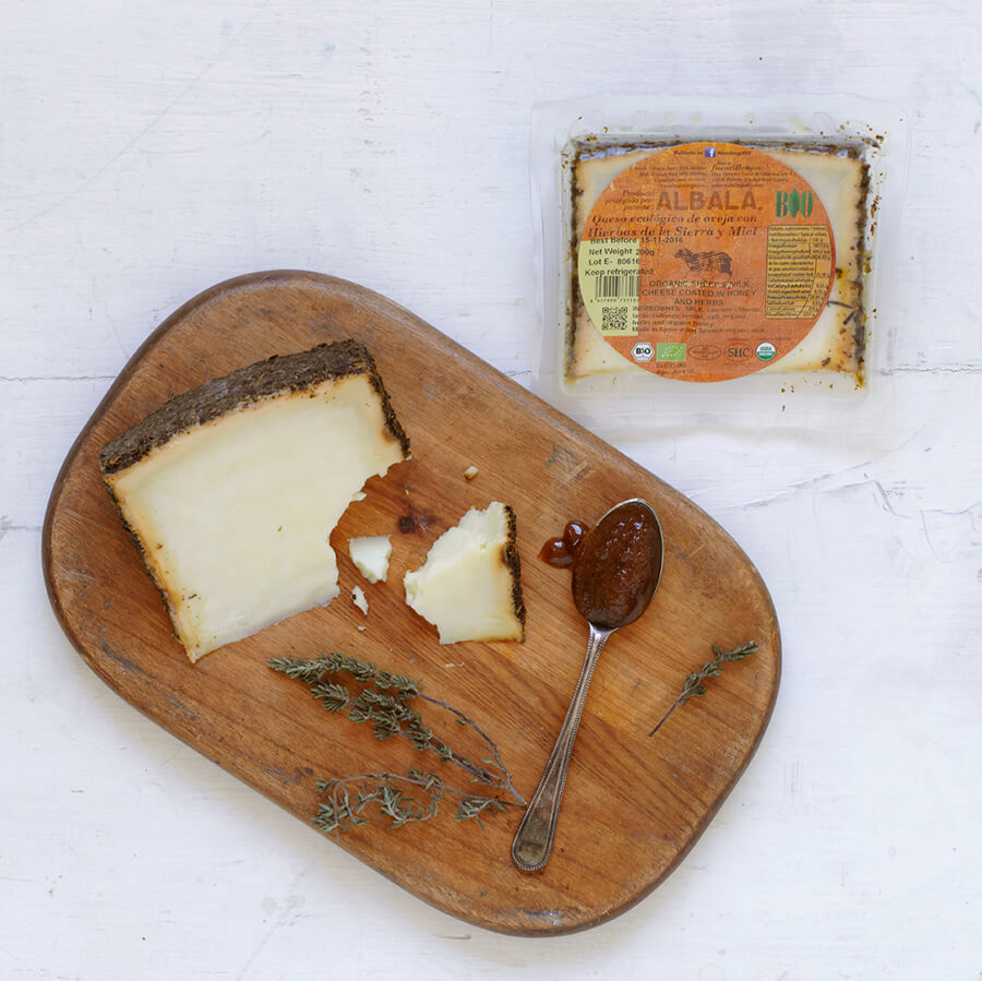 Organic Sheeps Cheese with Herbs and Honey 200g