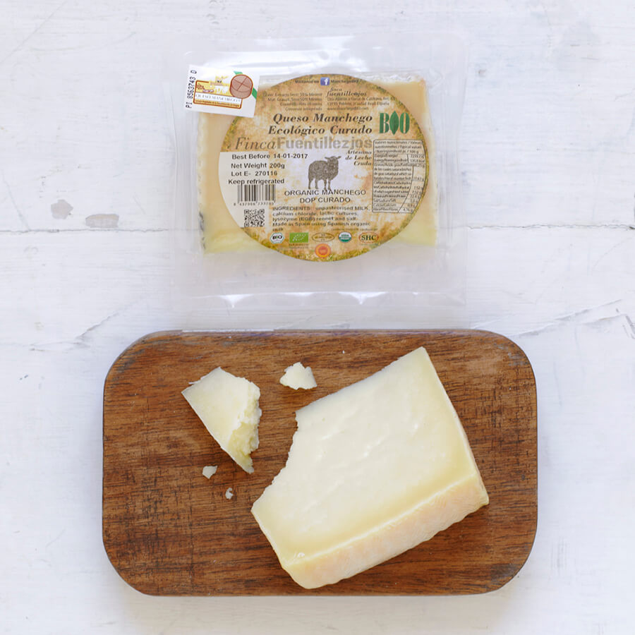 Organic Manchego DOP Cured Brindisa Spanish Foods