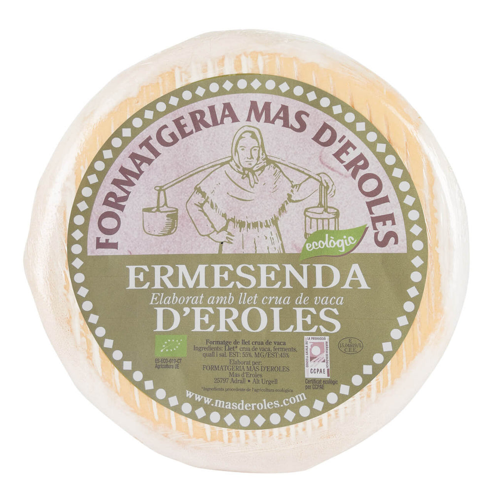 Ermesenda Organic Soft Cows' Milk Cheese brindisa spanish foods