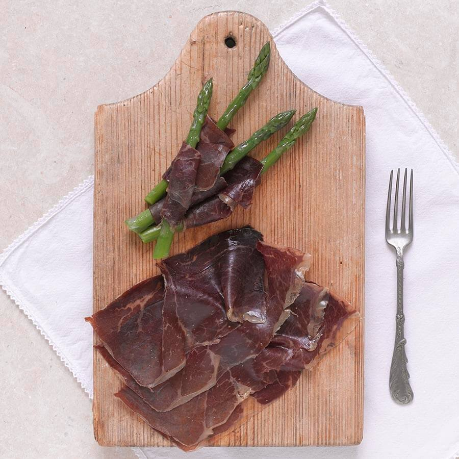 Cecinas Pablo Air-Dried Smoked Beef Slices Brindisa Spanish Foods