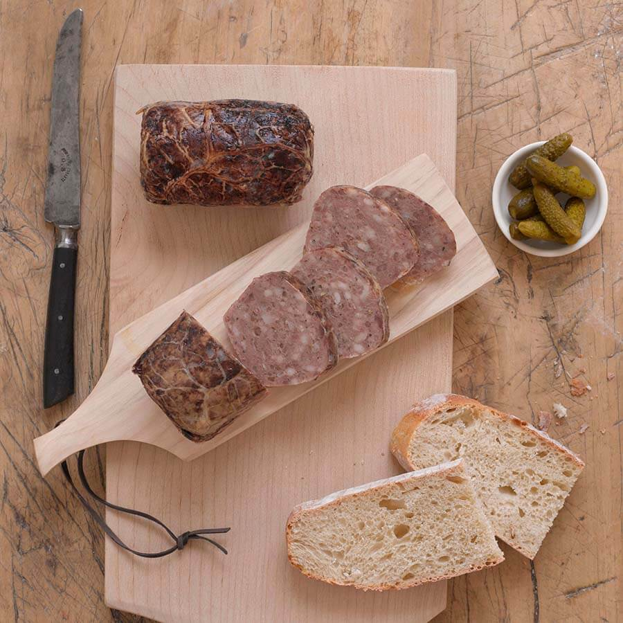 Pyrenean Country Pate Loaf 250g