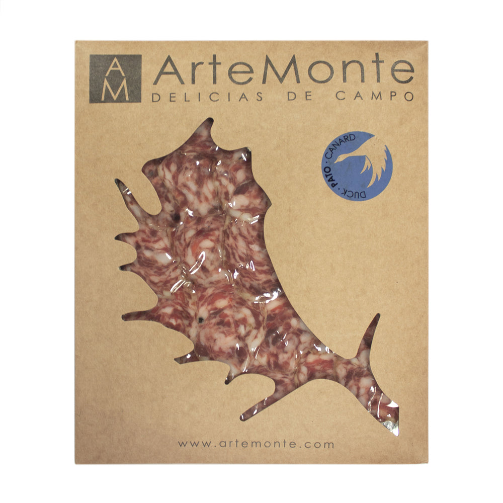 Artemonte Cured Duck Salchichon Slices 100g