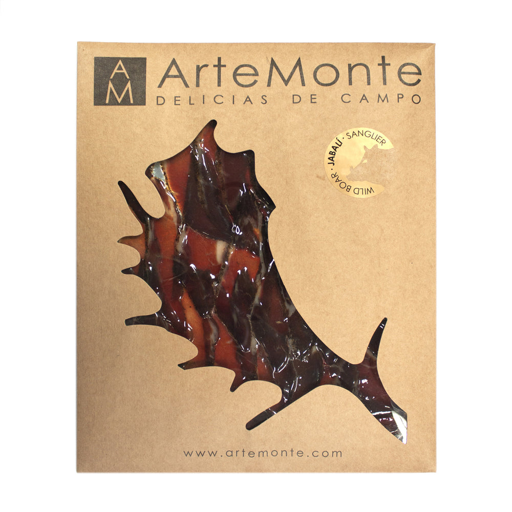 Artemonte Cured Wild Boar Slices 100g