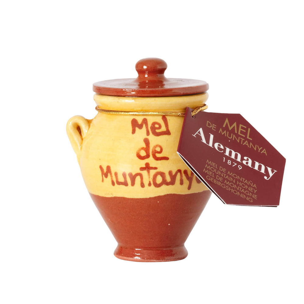 Alemany Mountain Honey in Ceramic Jar Brindisa Spanish Foods