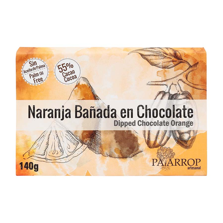 Paiarrop Dark Chocolate Dipped Candied Orange Segments Brindisa Spanish Foods