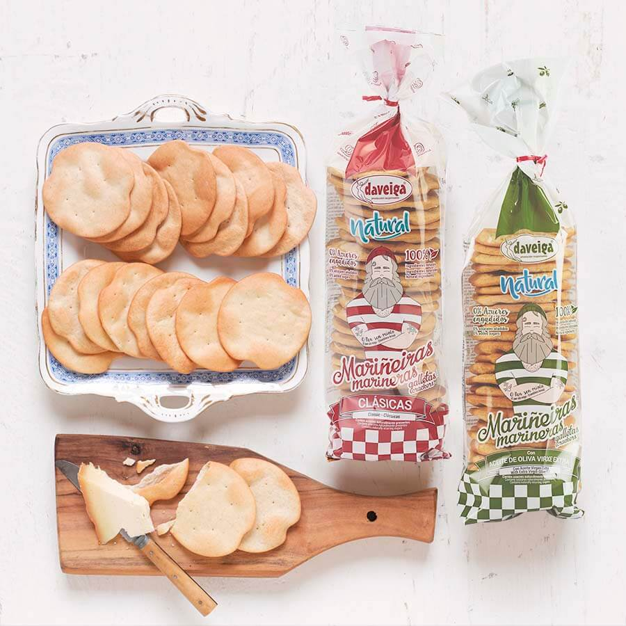 Savoury Olive Oil Crackers 200g
