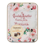 Amatller Orange Praline Chocolate Flowers, 72g tin