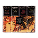 Amatller Chocolate Bar Selection 4 x 18g bars