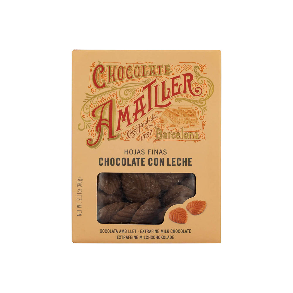 amatller chocolate leaves milk brindisa