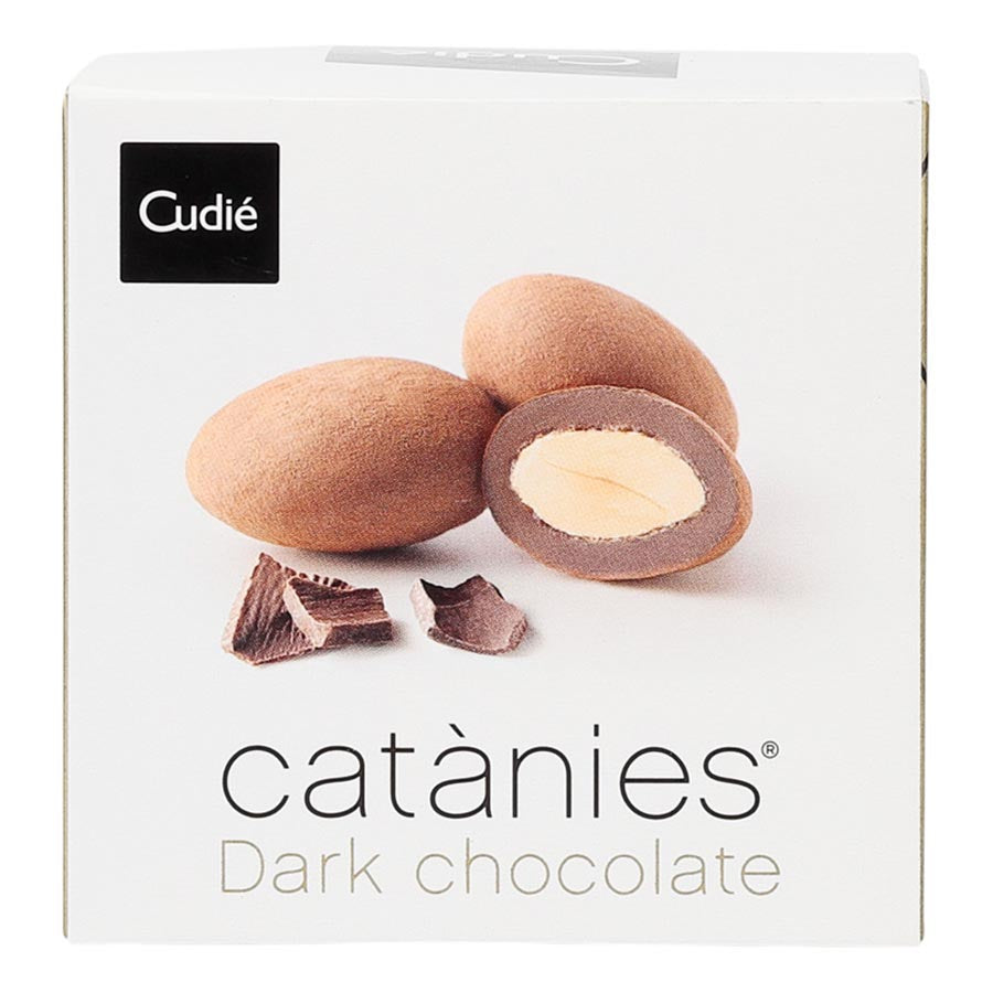 Cudie Dark Chocolate Almonds 100g
