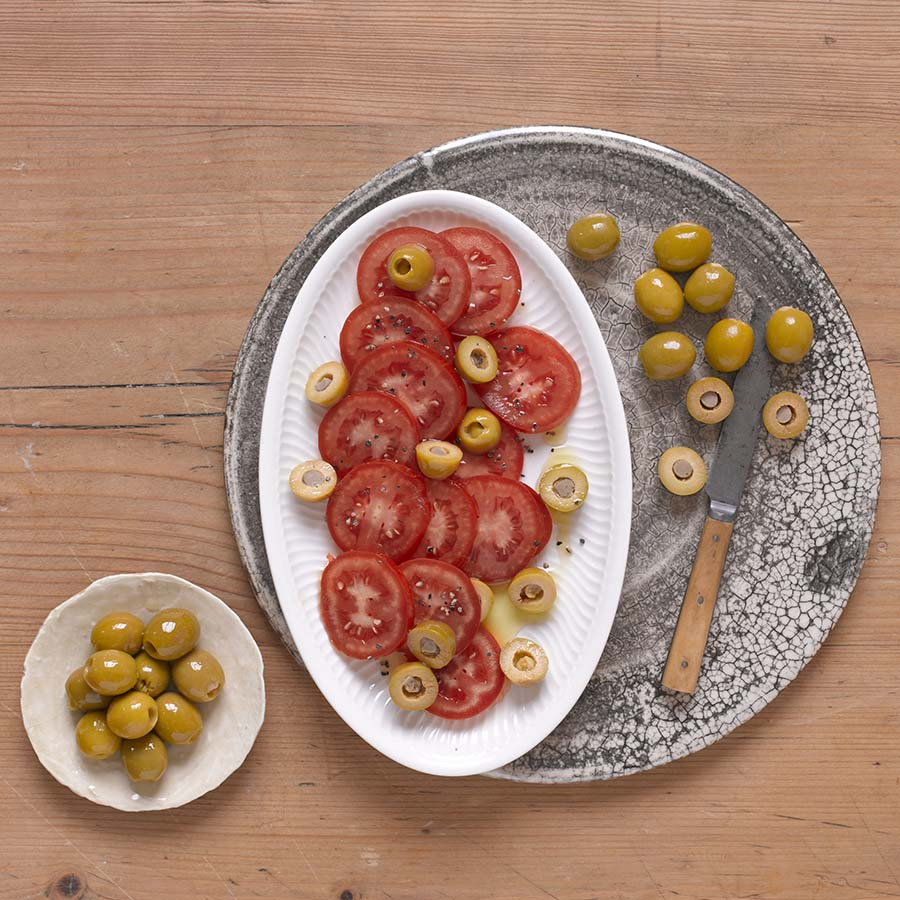 Manzanilla Olives Stuffed With Anchovies 2.2kg