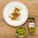 Brindisa hot guindilla peppers, Brindisa Spanish Foods