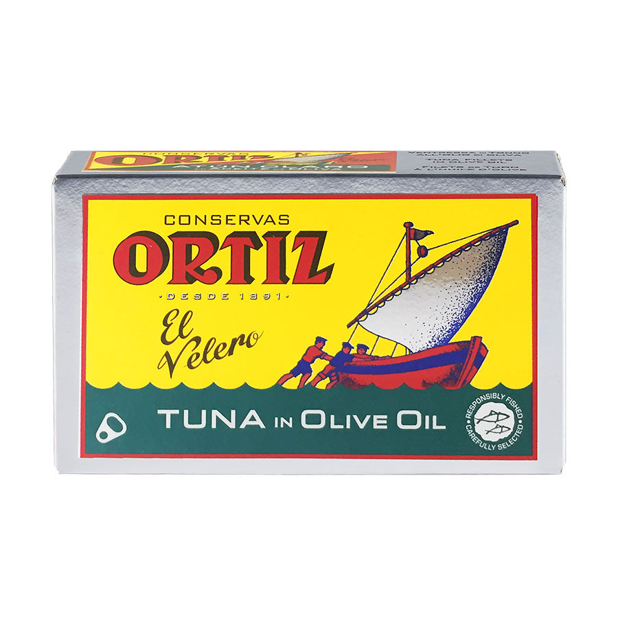Ortiz Yellowfin Tuna in Olive Oil 112g