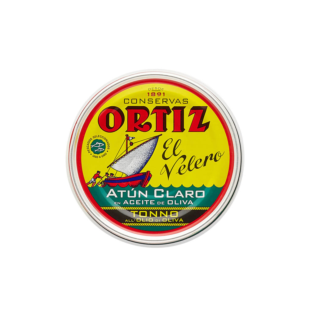 Ortiz Yellowfin Tuna Fillets in Olive Oil 250g