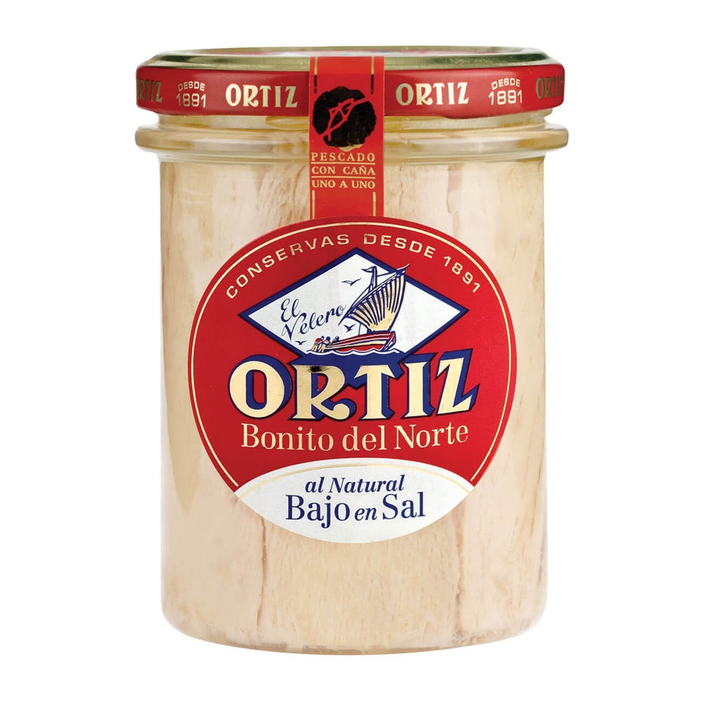 Ortiz Bonito in Spring Water (low salt) 220g