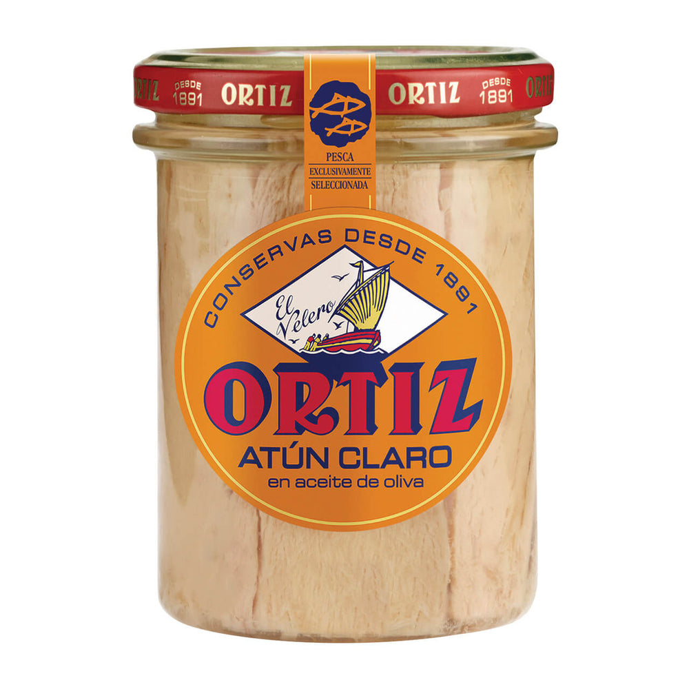 Ortiz Yellowfin Tuna in Olive Oil 220g
