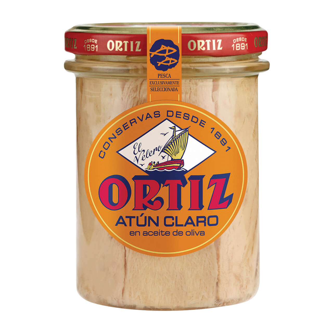 Ortiz Yellowfin Tuna in olive oil 220g jar