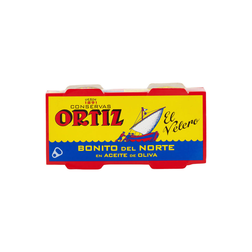 Ortiz Bonito Tuna in Olive Oil 2 x 63g multi pack