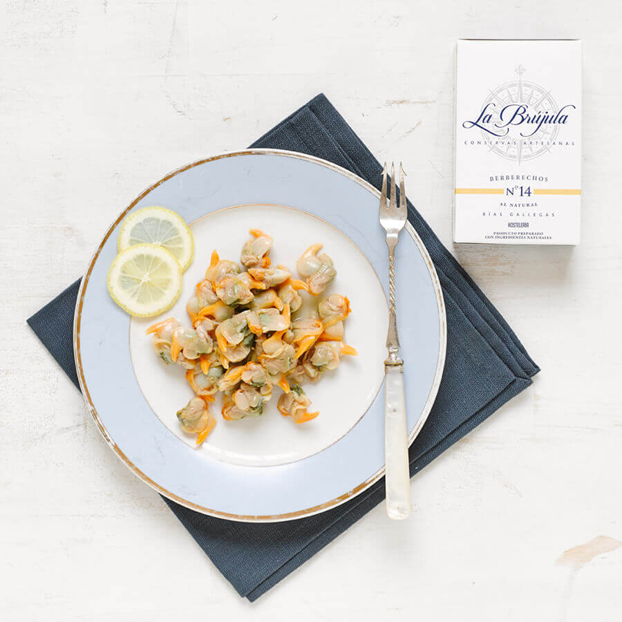 La Brujula Cockles in Brine Brindisa Spanish Foods