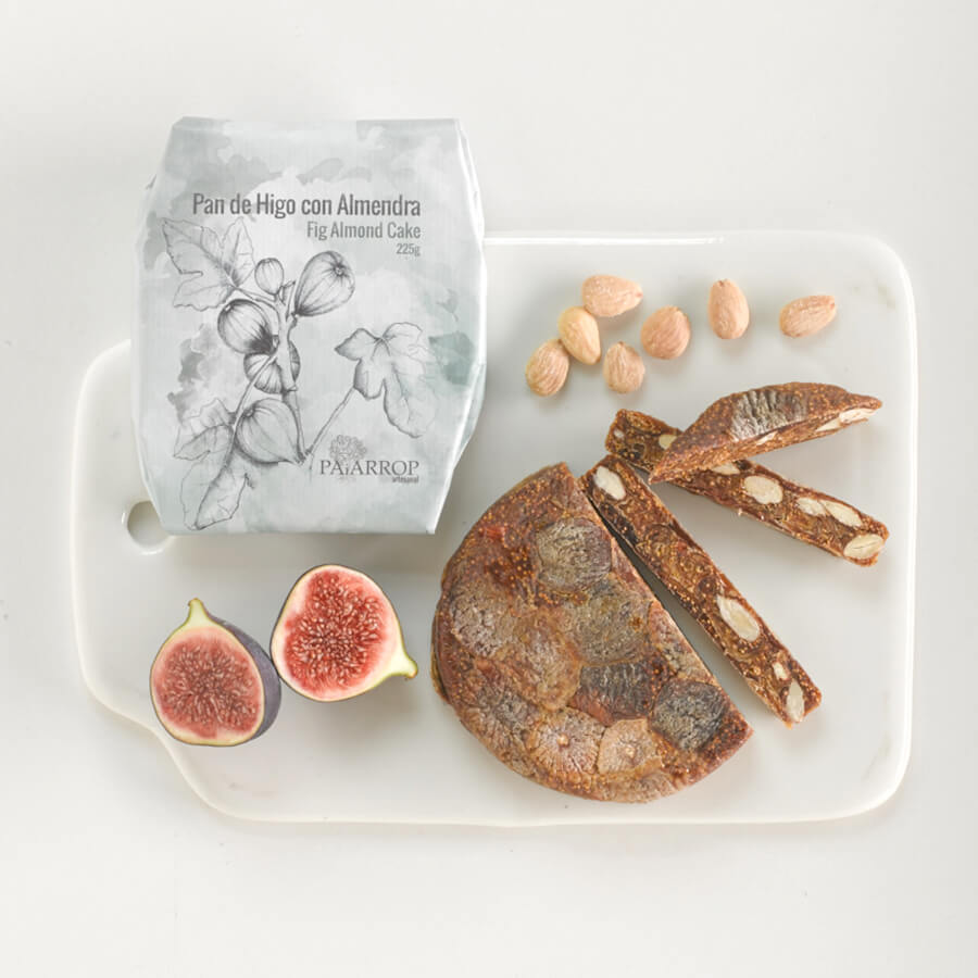 Paiarrop Fig and Almond Wheel Brindisa Spanish Foods