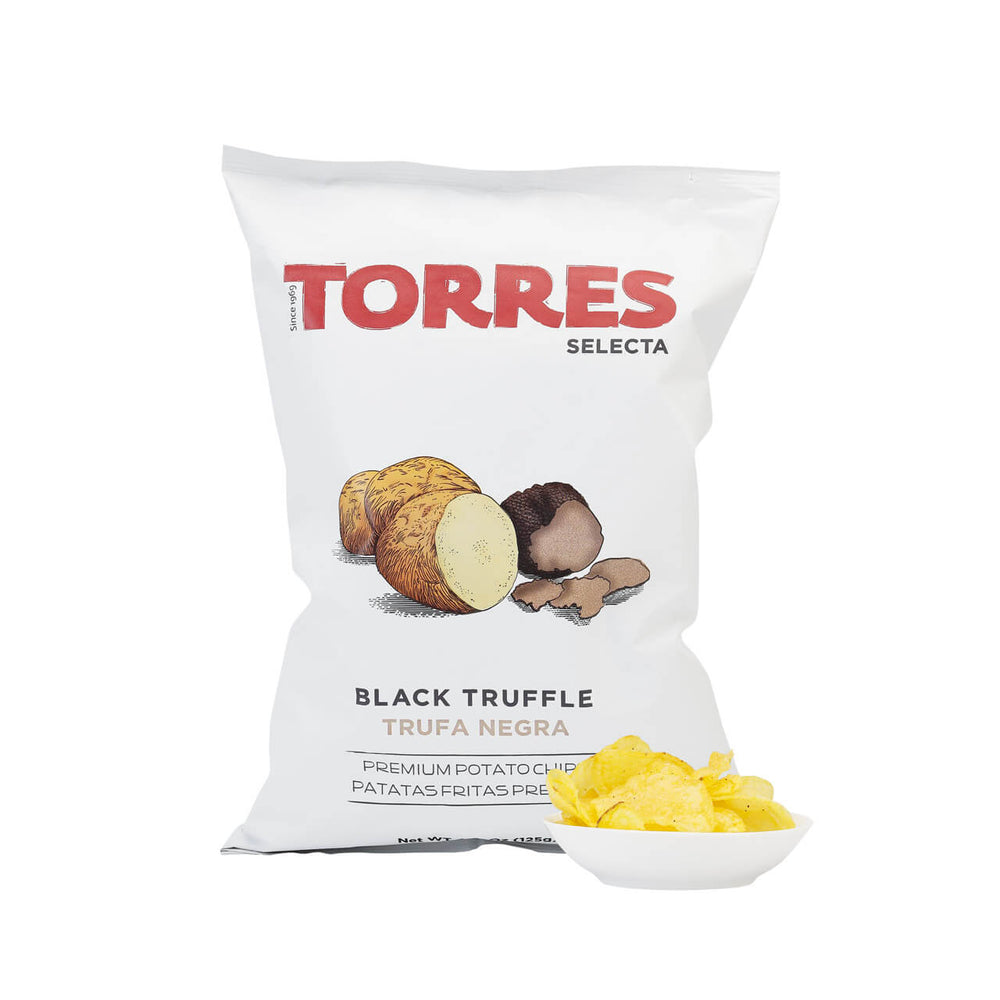 Torres Black Truffle Potato Crisps Brindisa Spanish Foods
