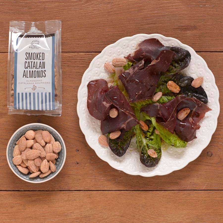 Brindisa Smoked Catalan Almonds 150g