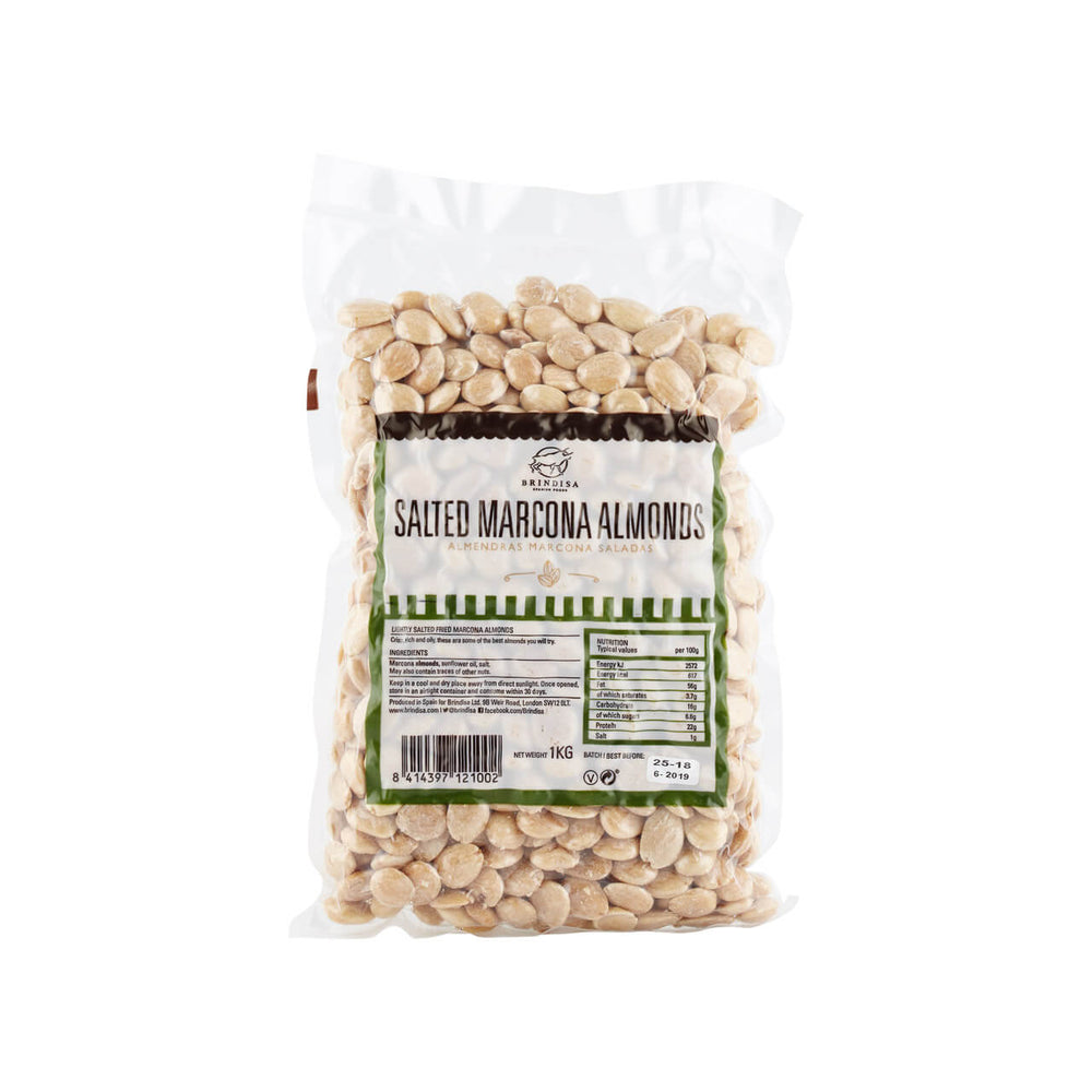 marcona almonds kilo pack queen almonds brindisa