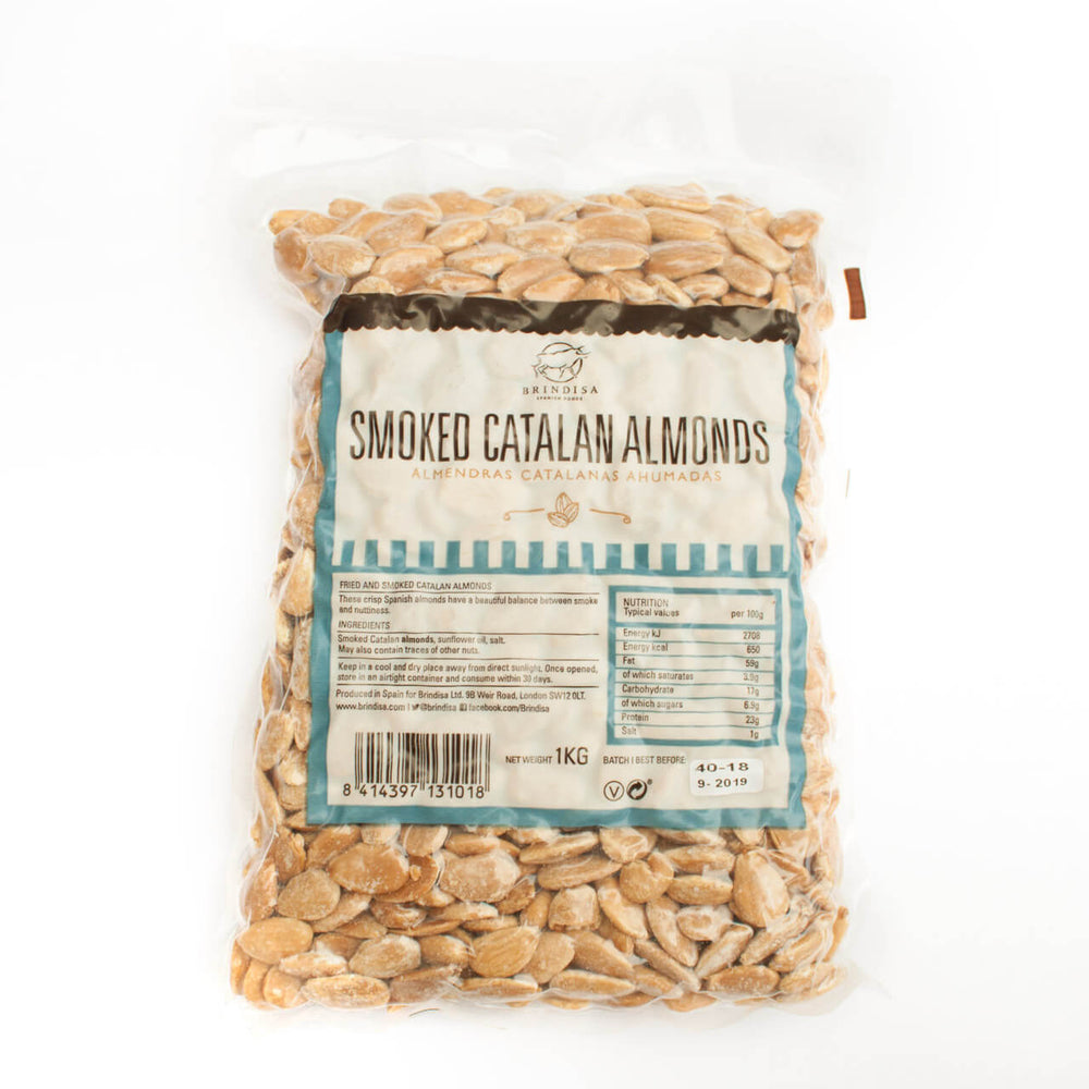 Brindisa Smoked Catalan Almonds Brindisa Spanish Foods