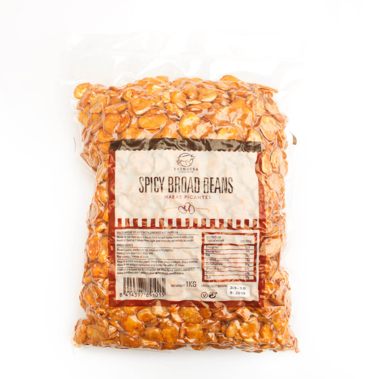 Brindisa Catalan Almonds with Paprika 1kg Brindisa Spanish Foods