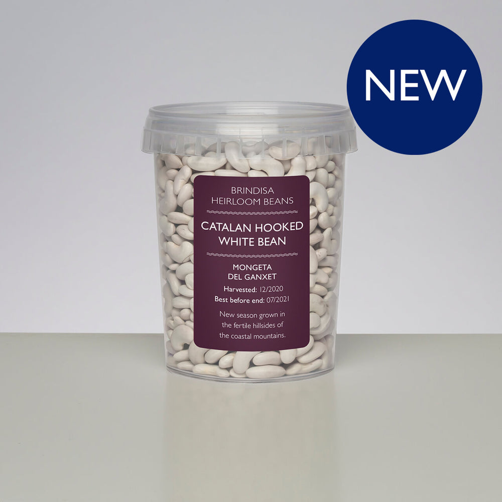 Catalan Hooked White Beans, 400g