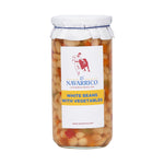 Navarrico white beans and vegetables