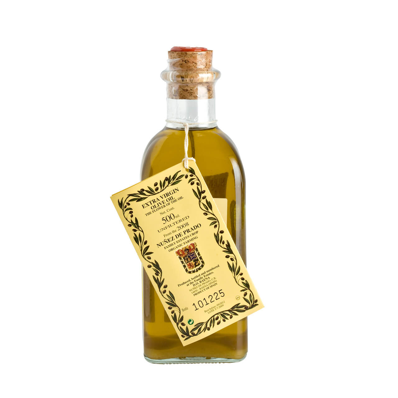 Nunez de Prado Unfiltered Extra Virgin Olive Oil 50cl