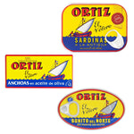 Ortiz Tuna, Anchovy & Sardine Selection Pack