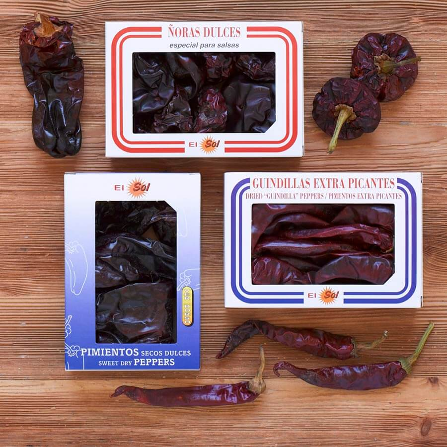 Dried Guindilla Peppers 50g