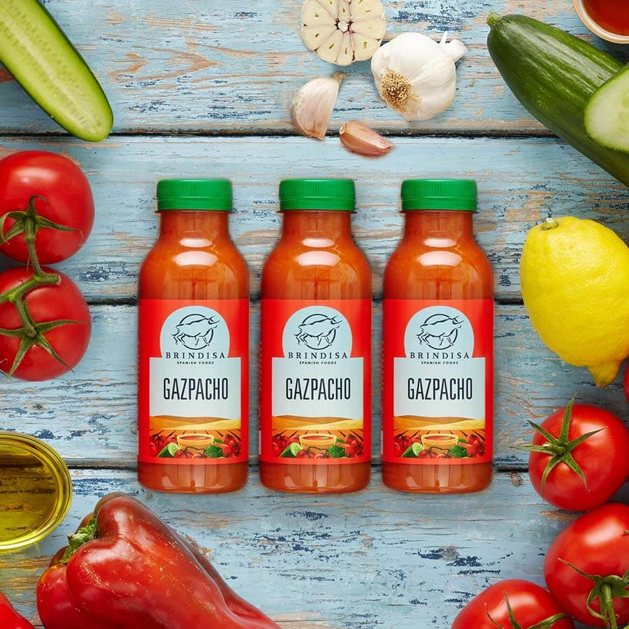 Brindisa Gazpacho 3x330ml Multi-pack