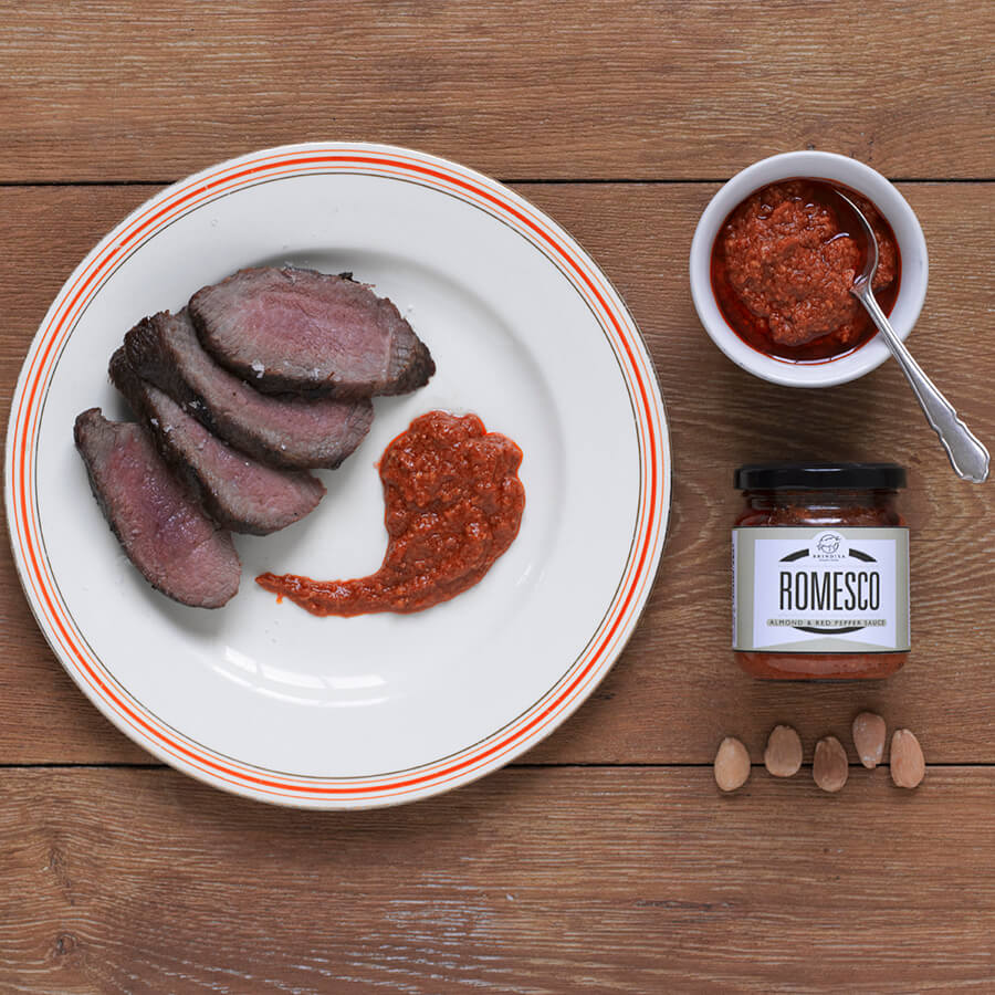 Brindisa Romesco Almond and Pepper sauce Brindisa Spanish Foods