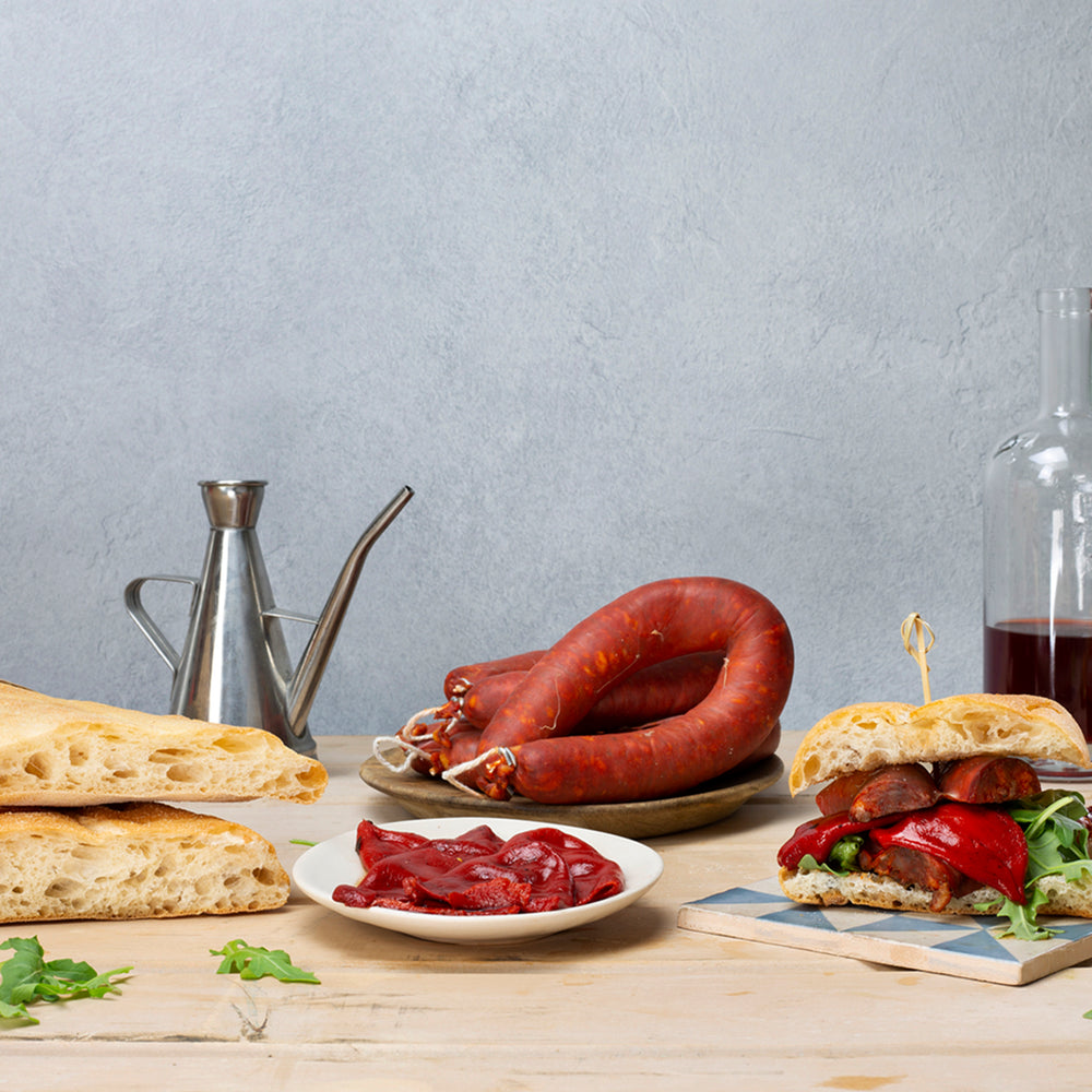 Brindisa Chorizo Roll Box (for 4)