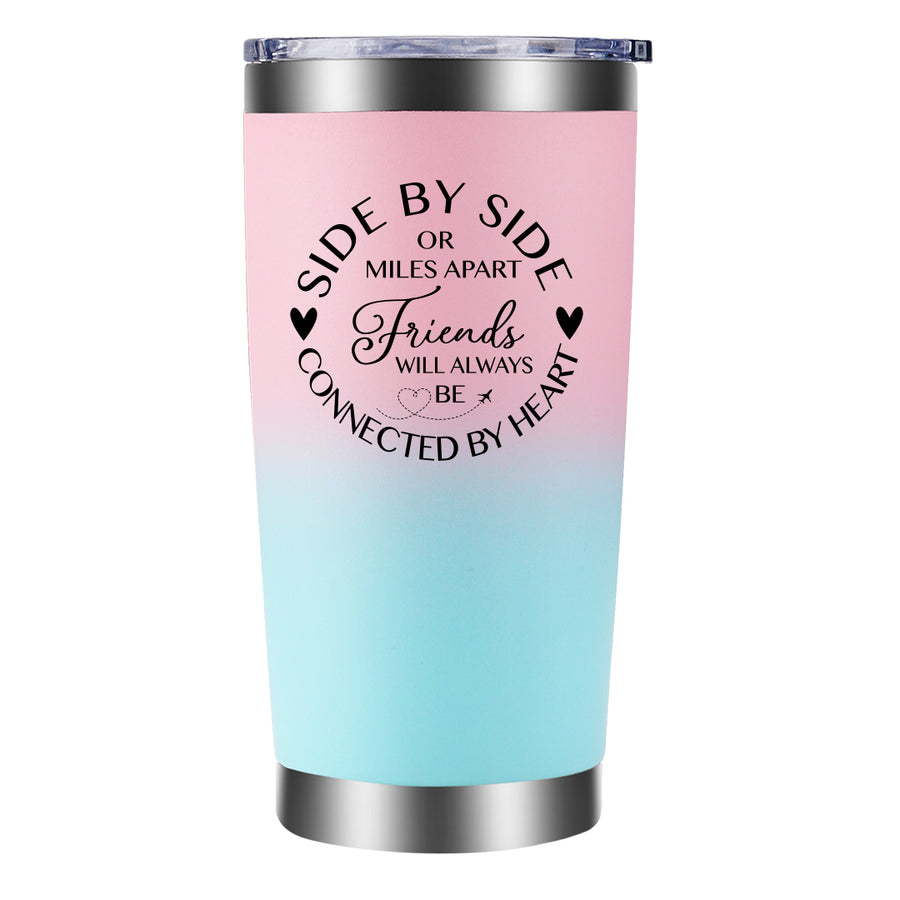 Friends Connected By Heart Tumbler Gift 600 ml.