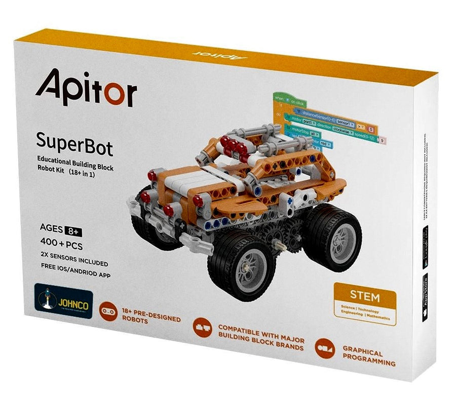 Apitor Superbot Robot Building Kit