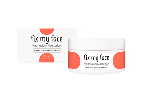 Advanced Natural SkinCare - Fix My Face Magnesium Moisturiser