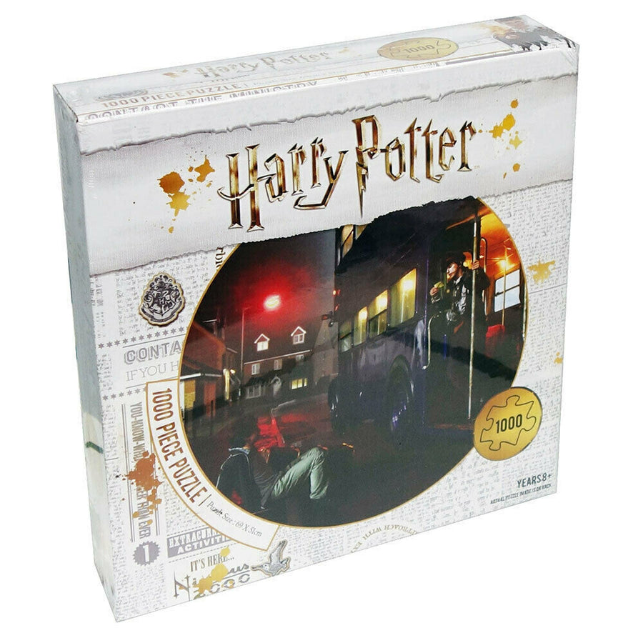 Harry Potter 1000 Piece Puzzle - The Knight Bus