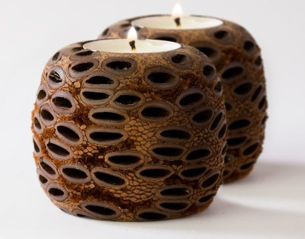 Banksia Tea Light Candle Set