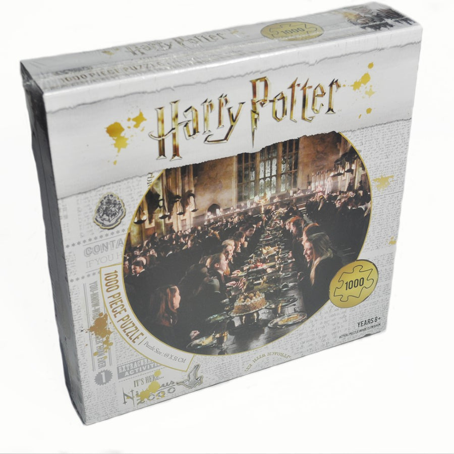 Harry Potter 1000 Piece Puzzle - The Great Hall