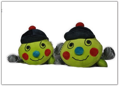 Baby Boo Alphabet Caterpillar Multi Colour Patterns