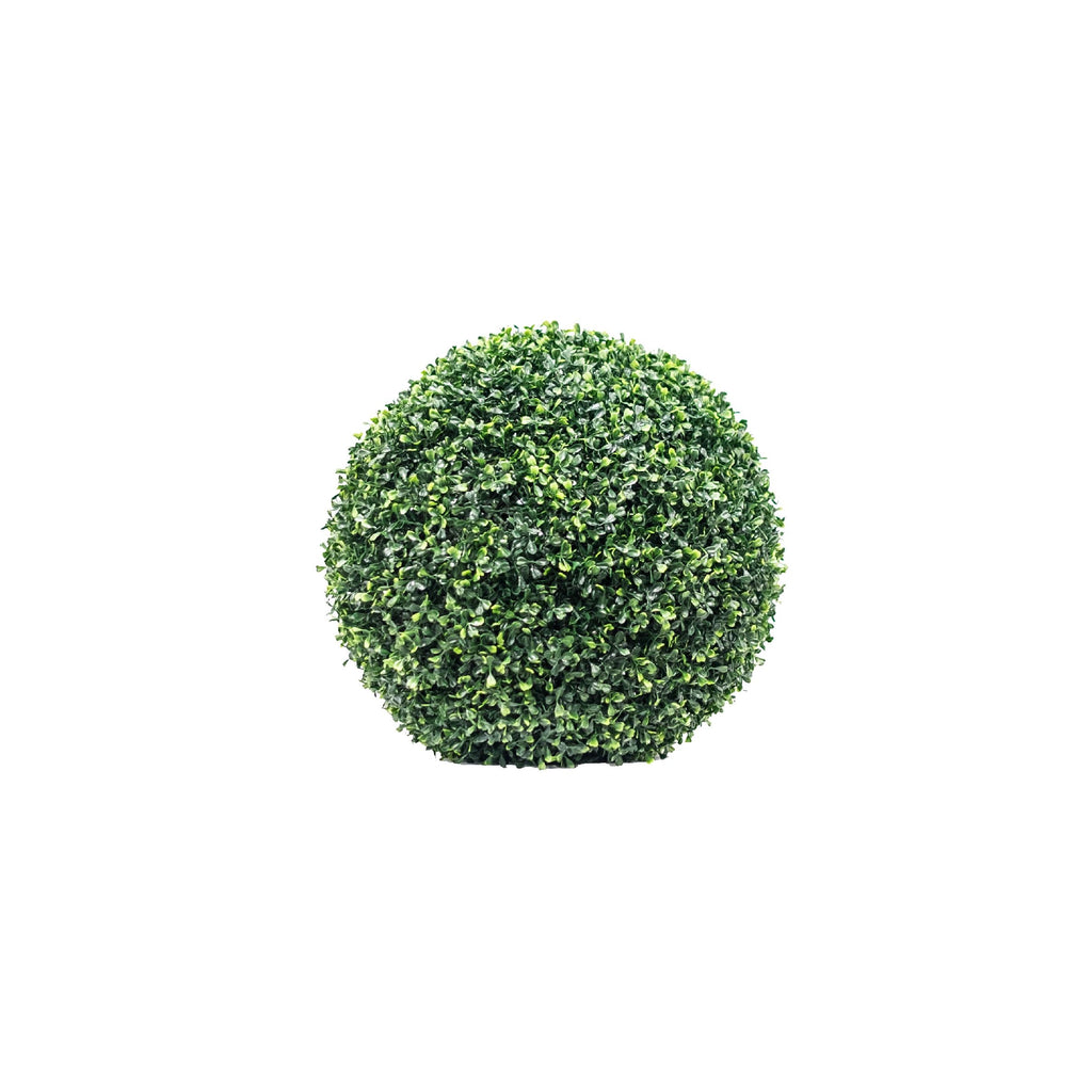 TWO-TONED BOXWOOD BALL (SET OF 2)