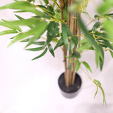 Potted Bamboo Tree Column