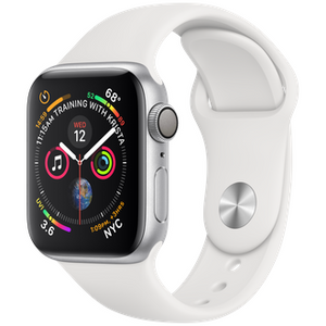 Refurbished Apple Series 4 Watch Aluminum 40mm Sport Band GPS Only