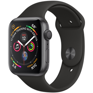 Refurbished Apple Series 4 Watch Aluminum 44mm Sport Band GPS Only