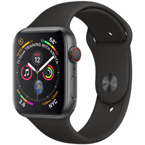 Refurbished Apple Series 4 Watch Aluminum 44mm Sport Band GPS + Cellular