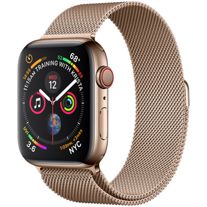Refurbished Apple Series 4 Watch Stainless Steel 44mm Milanese Loop  GPS + Cellular